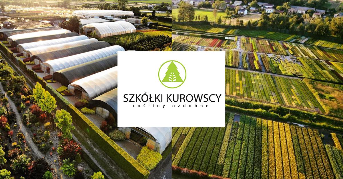 Szkółki Kurowscy ozdobią strefę startu i mety